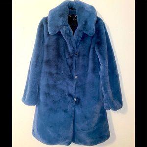 J.crew Collection Faux Fur Coat